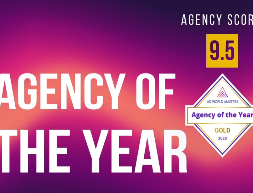 Agency of the Year - 2020 by AdWorldMasters