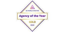Ad World Masters - Agency Of The Year Gold