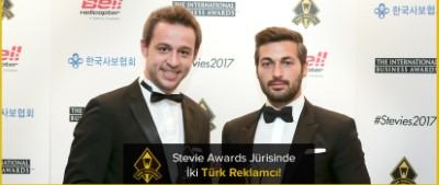 Two Turkish Advertiser In The Jury of Stevie Awards!